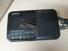 Sony Portable Cassette-Corder Tape Player Recorder Tcm-818 w/Cord