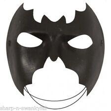 Ladies Mens Batman Batgirl Bat Halloween Fancy Dress Costume Eye Mask