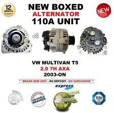 FOR VW MULTIVAN T5 2.0 7H AXA 2003-ON NEW 110A ALTERNATOR UNIT OE QUALITY