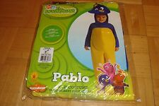 Nick Jr. BACKYARDIGANS PABLO Child Costume * Jumpsuit + Headpiece  Toddler 2-4