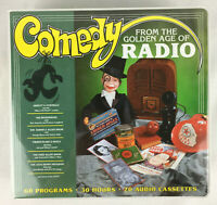 New Comedy From The Golden Ages of Radio 60 Programs 30 Hours 20 Audio Cassettes