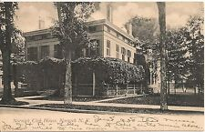 Norwich Club House Norwich Ny Postcard 1906