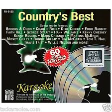 24 Disc Country Best Karaoke CDG 360 Song  PATSY Reba TOBY Conway WILLIE Waylon