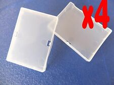 4Pcs Clear Protection Cover Case For Nikon En-EL3E D300 D200 D90 D80