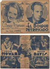 THE PETRIFIED FOREST,Leslie Howaed,Bette Davis ,Herald,1936