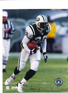 CURTIS MARTIN Unsigned 8 X 10 PHOTO Jets