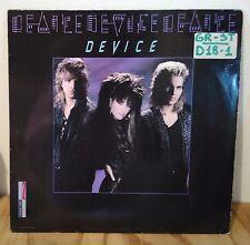 Disco vinile LP 33 giri - 22B3 DEVICE - 1986 - Musica