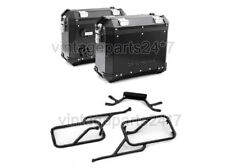 Genuine Royal Enfield Black Himalayan Panniers and Rails Complete Set