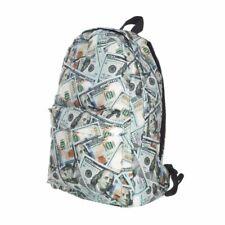 Mens Women School Fashion Backpack Casual Money Style Rucksack Waterproof Bag