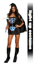 Maya Remains Sexy Skeleton Adult Costume Small