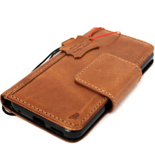 Genuine retro leather case for LG G6 book cards wallet magnetic stand rubber ID