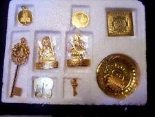 Diwali Poojan Set Shri Dhan Laxmi Kuber Bhandari Yantra Dosh Nivaran-9pcs God