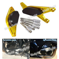 Oro protezione carter motore statore sliders per 15-18 SUZUKI GSXS GSX-S 750/Z