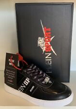 "Philipp Plein / Plein Sport Sneaker ""Lo-Top Sneakers TIGER""  Gr.40 Schwarz | Neu"