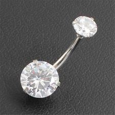 Price surgical steel navel rings crystal belly button ring bar piercing jewelry | WIKIPRICE USA