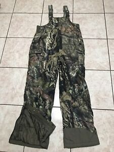 Mossy Oak Hunting Camouflage Insulated Overalls Size XL Youth (14/16)