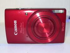 Canon PowerShot elph ixus 190 elph 190 Digital Camera  +32GB *RED*