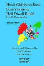 Hindi Children's Book - Sonu's Festivals - Holi Diwali Rakhi by Dinesh Verma...