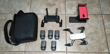 DJI Spark Fly More Combo HD Camera Drone - 5 batteries - Charger - Tablet Mount