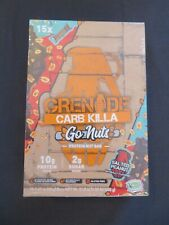 (15) Grenade Carb Killa Go Nuts Protein Nut Bar Salted Peanut 1.41 Oz Each @1