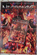 NECRONOS TOWER OF DOOM - DVD UNCUT MOVIES + POSTER - HORREUR - GORE