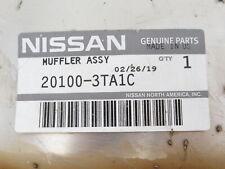 Genuine OEM Nissan 20100-3TA1C Rear Muffler 2014-2018 Altima