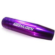 Universal 5 6 Speed Length Mugen Gear Shift Knob Racing Car Aluminum Purple