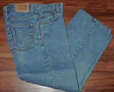 Boys Size 10 Slim Relaxed Fit Levi Strauss 550 23x25 Denim Blue Jeans