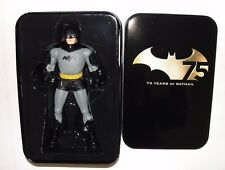 Batman 75th Anniversary New Frontier Darwyn Cooke Figure with Collector Tin