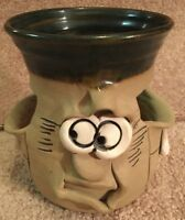 Pretty Ugly Pottery Wales Funny Face Vintage Planter Very limited run VGC