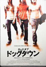 Lords of Dogtown 2005 Skateboarding Japanese Mini Poster Chirashi Japan B5