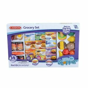 NEW CASDON GROCERY PLAY SET FOR KIDS 617