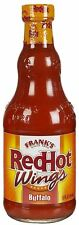 Franks Red Hot Buffalo Wing Sauce 354ml