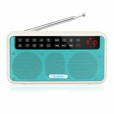 New FM Stereo Radio MP3 Player Bluetooth Speaker with Selfie mode&Voice recorder