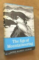 The Age of Mountaineering by James Ullman (1964, Hardcover with dust jacket)