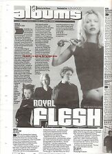 HOLE Celebrity Skin album review 1988 UK ARTICLE / clipping - Courtney Love