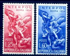 ITALIA 1954 - INTERPOL SERIE  NUOVA  **