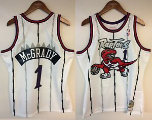 Tracy McGrady Toronto Raptors Mitchell & Ness NBA 1998-1999 Authentic Jersey HWC