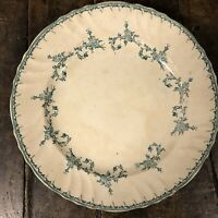 Chantilly Longwy Faïence Ancien Céramique Vaisselle Plat Service Fleur