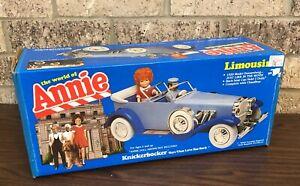 VINTAGE 1982 Knickerbocker Toys The World Of ANNIE LIMOUSINE BNIB