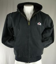Colorado Avalanche Nhl Dunbrooke Men's Quilted Canvas Jacket