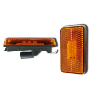 2x LED Side Marker Lights Lamps Amber for SCANIA P-G-R-T SERIES