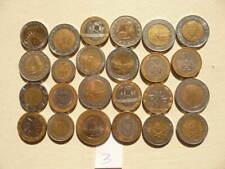 Lot of 24 Bi-metallic Mixed World Coins - Lot 3