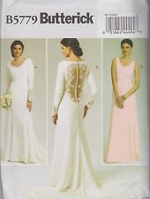 From UK Sewing Pattern  Wedding Dress size 4 - 12  # 5779