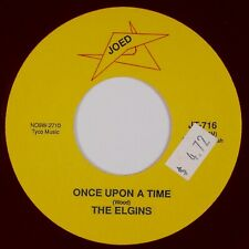 THE ELGINS: Once Upon A Time / Huddle JOED Doo Wop Red Wax Repro 45 NM