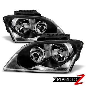 For 04-06 Chrysler Pacifica FACTORY STYLE Headlight Front Signal Driving Lamp