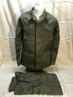 Vintage East German Military Field Combat Camouflage Uniform Small UNISSUED