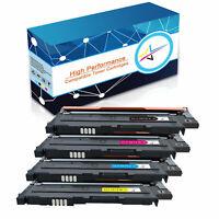 4PK Compatible CLT-407S Toner Cartridge Set For Samsung CLP325W CLX3180 CLX3185N