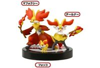 #F67-136 Takara Tomy Trading figure Pokemon Zukan 1/40 Fennekin