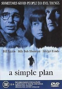 A Simple Plan DVD 1998 - SAM RAIMI Thriller Mystery Movie - Billy Bob Thorton
